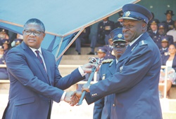 Sword of Command handed to the new SAPS National Commissioner: Genl Khehla Sitole